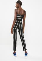 Sissy Boy - Stripe jumpsuit - black & white