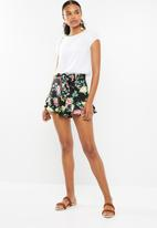 Superbalist - Soft frill short - multi