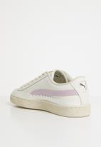 PUMA - Puma Basket Scallop - 36674401 - Whisper White