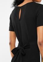 Superbalist - Side stripe short sleeve playsuit - multi