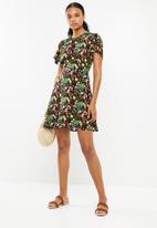 Superbalist - Short tea dress - multi