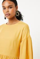 Superbalist - Shift dress - yellow