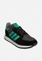 adidas Originals - Oregon - core black/Hi Res Green /Grey Four