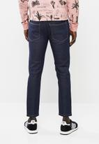 STYLE REPUBLIC - Rip and repair skinny stretch jeans - blue