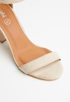Cotton On - San sebastian heel - neutral