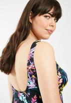 Lithe - Babydoll swim dress - multi