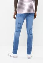 STYLE REPUBLIC - Jabu patch skinny jean - blue