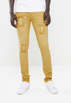 STYLE REPUBLIC - Jabu patch skinny jean - yellow
