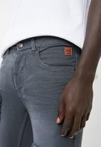 STYLE REPUBLIC - Jabu patch skinny jean - grey