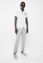 SOVIET - Harley woven shirt - white