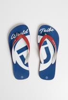 World Tribe - Baseline flip flop - blue