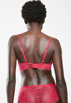 DORINA - Blair balcony bra - red