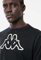 KAPPA - Logo cromen- black & white