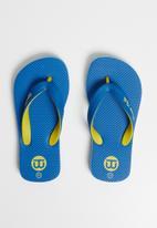 World Tribe - Ultimate junior flip flops -  blue