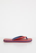 World Tribe - Ultimate junior flip flops - red