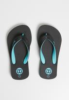 World Tribe - Ultimate junior flip flops - black