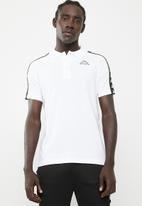KAPPA - Banda estrel golfer tee - white