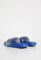Character Fashion - Spider-Man pool sliders - blue