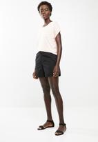 edit - Longer length shorts - black