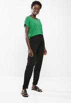 edit - Loose fit lounge pants - black