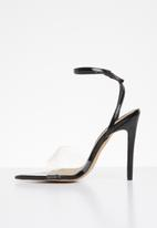 Cherry Collection - Nevada ankle strap heels - black