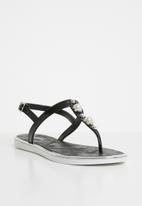 Miss Black - Marwa thong sandals - black