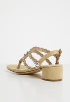 Miss Black - Samantha sandals - yellow