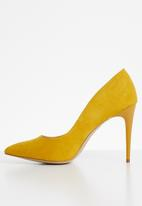 New Look - Yummy court pump -  yellow