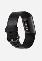 Fitbit - Fitbit charge 3 - graphite/black