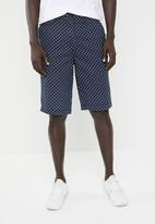 STYLE REPUBLIC - Ditsy floral print shorts - navy