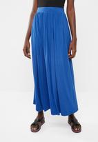 c(inch) - Volume maxi skirt - blue