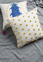 Sixth Floor - Itsy bitsy cushion cover - yellow & natural