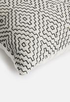 Sixth Floor - Willow cushion cover - black & white