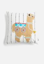 Sixth Floor - Alpacca cushion cover - multi