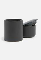 Urchin Art - Toothbrush tumbler - matte black