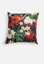 Grey Gardens - Paradise floral cushion cover - multi