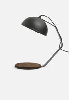 Emerging Creatives - Stockholm desk lamp - black