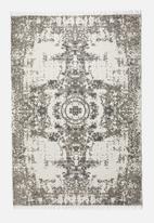 Sixth Floor - Genesis printed rug - grey