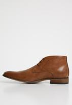 Michael Daniel - Jarred Pin punch leather boot -brown