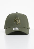 New Era - League essential aframe womens NY Yankees - khaki green