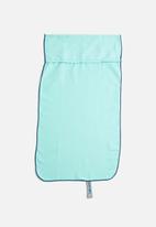 Bobums - Single gym towel - lumo blue