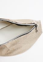 UNSEEN - Glitterati waist bag - gold