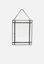 Sixth Floor - Effie photo frame - black