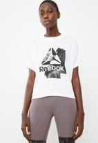 Reebok - EE graphic tee - white