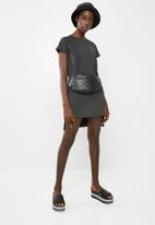KAPPA - Banda dress - black & gold