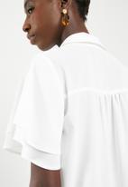 Superbalist - Soft feminine shirt - cream