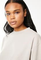 Superbalist - Cropped sweat - neutral