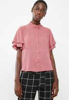 Superbalist - Soft feminine shirt - pink