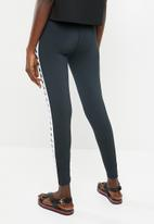 KAPPA - Banda leggings - black and white