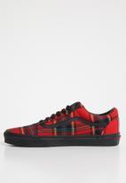 Vans - Old Skool - red / black